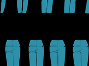 Vocabulaire longueurs styles pantalons
