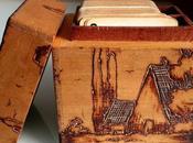 étapes pour réussir pyrogravure bois