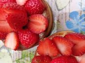 Tarte citron fraises, crème lemon curd
