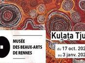 exposition d'art aborigène musée Beaux-Arts Rennes jusqu'au janvier 2021