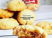 Cookies gourmands pâte tartiner noisette