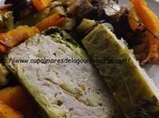 Terrine pain choux vert farci poulet facile! Bas* Sans Gras*