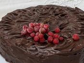 Gâteau chocolat d'Ottolenghi.