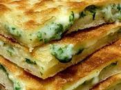 Galette feuilletée farcie fromage herbes.