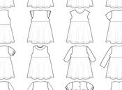 Variations autour robe Claudinette