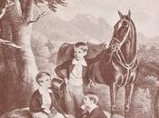 Habsbourgs futur empereur François-Joseph avec frères
