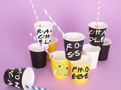 L'alphabet Friends pour customiser gobelets