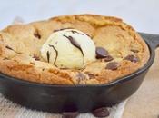 Cookie géant dans poêle (chocolat chip cookie skillet)