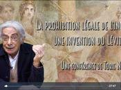 prohibition légale l'inceste, invention Lévitique