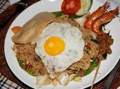 Trois spécialités base nouilles déguster Malaisie