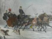 Kaiserin Kronprinz Rudolf einer Schlittenfahrt Ungarn Sissi fils traîneau Hongrie