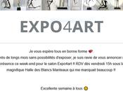EXPO4aRT Halle Blancs Manteaux œuvres Camille Jacobs 2021
