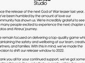 Quelques infos jeux Playstation Studios dont petit nouveau