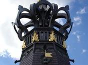 Statue Notre Dame brille nouveau cathédrale Cambrai