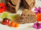 Gâteau salé Vegan sans gluten haricots rouges