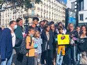Belles rencontres samedi marché d'Aligre pour maire Paris Anne Hidalgo