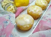 White chocolate chips lemon muffins pépites chocolat blanc citron magdalenas chispas blanco limón /مافن حبيبات الشوكولاتة البيضاء والليمون (حامض)