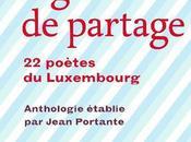 Lignes partage, poètes Luxembourg (éd. Bruno Doucey)