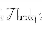 Throwback Thursday Livresque comme