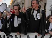 Manifestation avocats