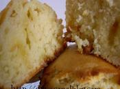 Muffins parfum citron chocolat blanc