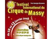 féstival international cirque Massy janvier